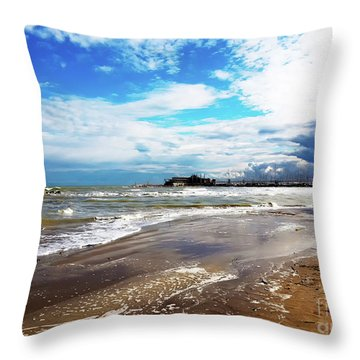 Rimini After The Storm Throw Pillow