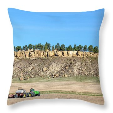 Rimrock Seeder Throw Pillow