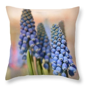 Ringing In Spring Throw Pillow by Lisa Knechtel