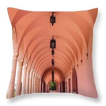 Ringling Museum Fl Throw Pillow