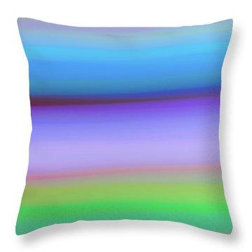 Rings Of Neptune Throw Pillow