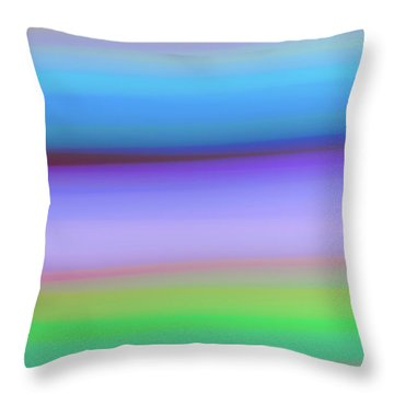 Rings Of Neptune Throw Pillow