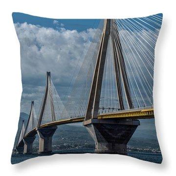 Rio-andirio Bridge Throw Pillow