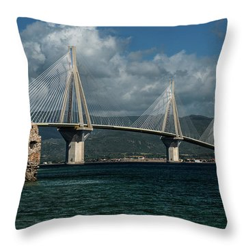 Rio-andirio Hanging Bridge Throw Pillow