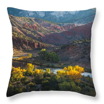 Rio Chama Throw Pillow