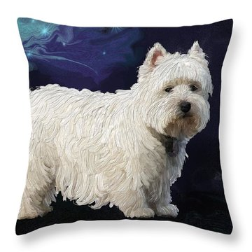 Rio In Texture Throw Pillow