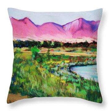 Rio On Country Club Throw Pillow
