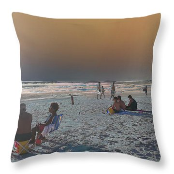 Throw Pillow featuring the photograph Rio Planet by Beto Machado