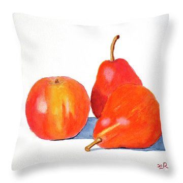 Ripe And Ready To Eat Throw Pillow