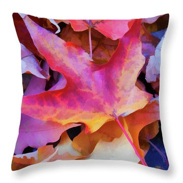 Ripe For Halloween Throw Pillow by Lanjee Chee