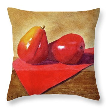 Ripe For The Eating Throw Pillow