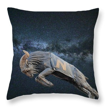 Ripping Through The Galaxy Throw Pillow