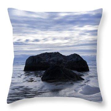 Ripple Effect Throw Pillow