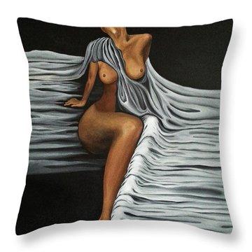 Ripple Shawl Throw Pillow