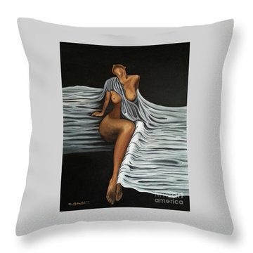 Ripple Shawl Throw Pillow