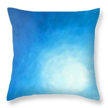 Ripples Throw Pillow by Cindy Lee Longhini