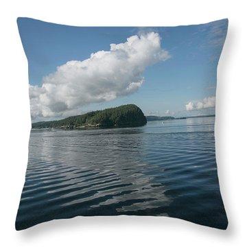 Throw Pillow featuring the photograph Ripples by Elvira Butler