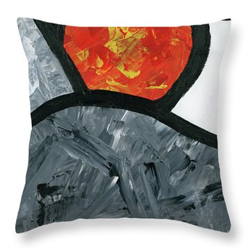 Rise And Fall 2 Throw Pillow