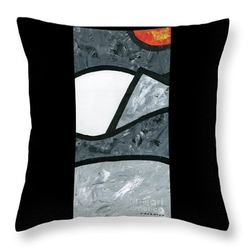 Rise And Fall 3 Throw Pillow