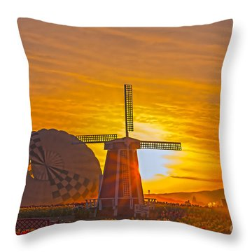 Rise And Shine Throw Pillow by Billie-Jo Miller