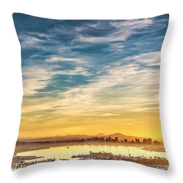Throw Pillow featuring the photograph Rise And Shine by Dan McGeorge