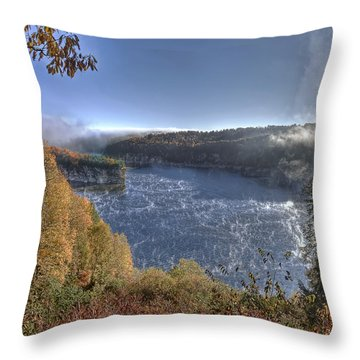Rise And Shine Throw Pillow by Mark Allen