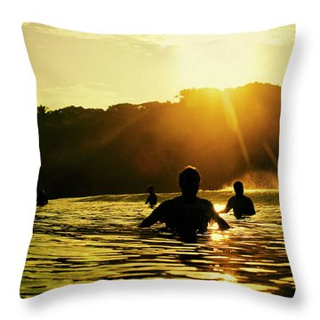 Throw Pillow featuring the photograph Rise And Shine by Nik West