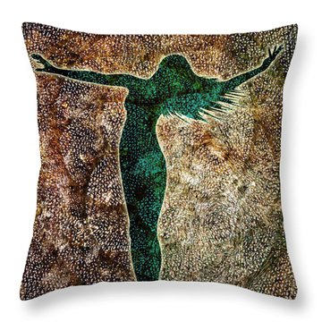 Rise Of The Divine Feminine Throw Pillow