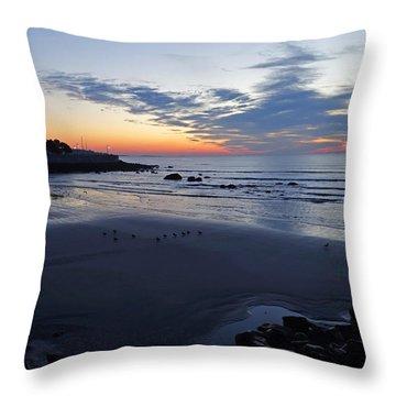 Rise Of The Phoenix Over King's Beach Lynn Ma Throw Pillow