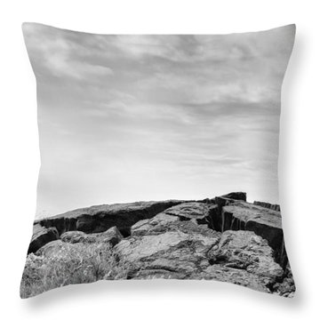 Throw Pillow featuring the photograph Rise by Ryan Manuel