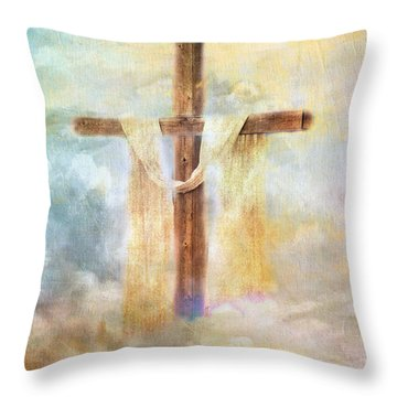 Risen Throw Pillow
