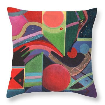 Rising Above And Synergy 2 Throw Pillow