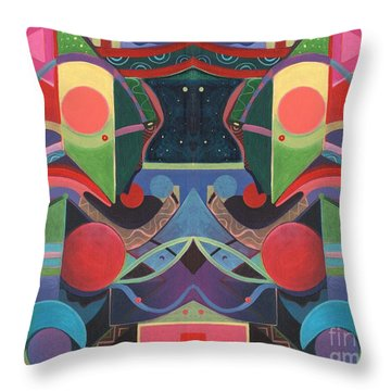 Rising Above And Synergy 3 Throw Pillow
