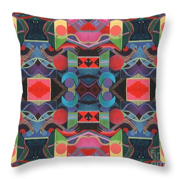 Rising Above And Synergy 4 Throw Pillow