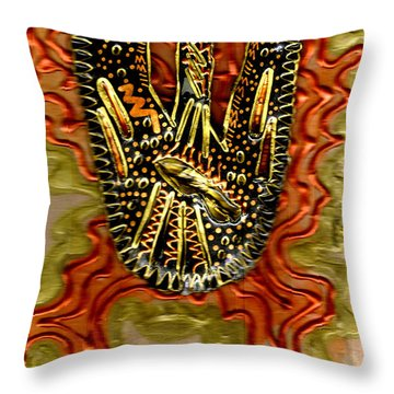 Rising Above II Throw Pillow by Angela L Walker