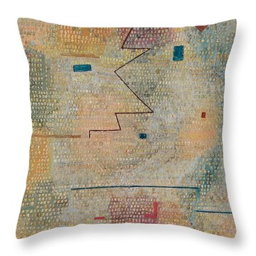 Rising Star  Throw Pillow