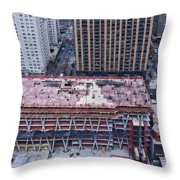 Rising Throw Pillow by Steve Sahm