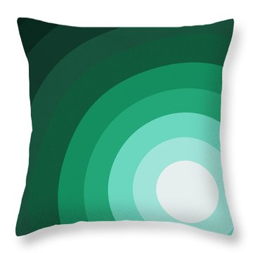 Rist Action Throw Pillow by Oliver Johnston