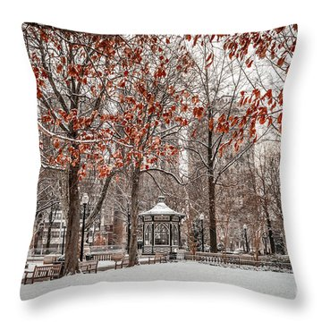 Rittenhouse Snowscape Throw Pillow