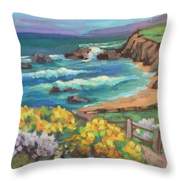 Ritz Carlton At Half Moon Bay Throw Pillow