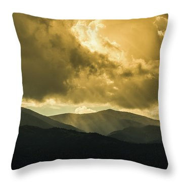 Ruidoso Rays Throw Pillow