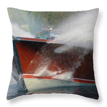 Riva Splash Throw Pillow