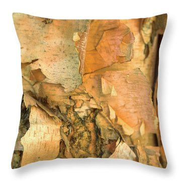 River Birch Throw Pillow