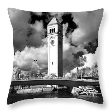 River Front Park Spokane Throw Pillow