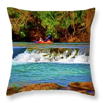 River Good Times 121217-1 Throw Pillow
