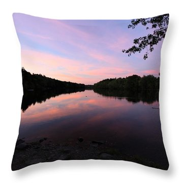River Harmony  Throw Pillow