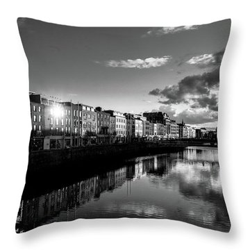 River Liffey Throw Pillow