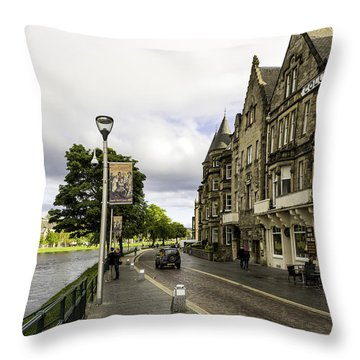 River Ness Throw Pillow