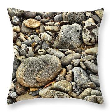 River Rock Throw Pillow