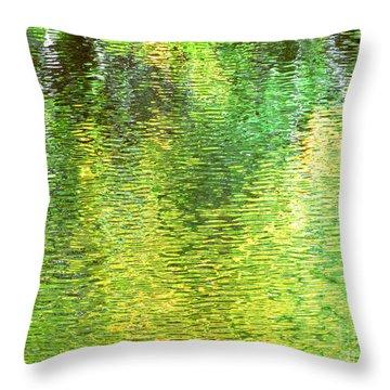 River Sanctuary Throw Pillow